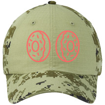 ab8f47bf214 Donut boobs Colorblock Camouflage Cotton Twill Cap