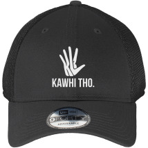 861259328c3c94 KAWHI THO Distressed Cotton Twill Cap (Embroidered)