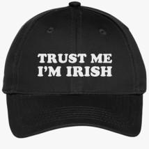 71dc9ed1180 St Patrick s Day Trust me I m IRISH Youth Six-Panel Twill Cap