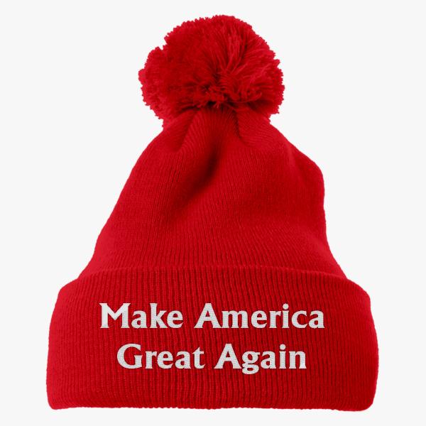Knit Pom Cap