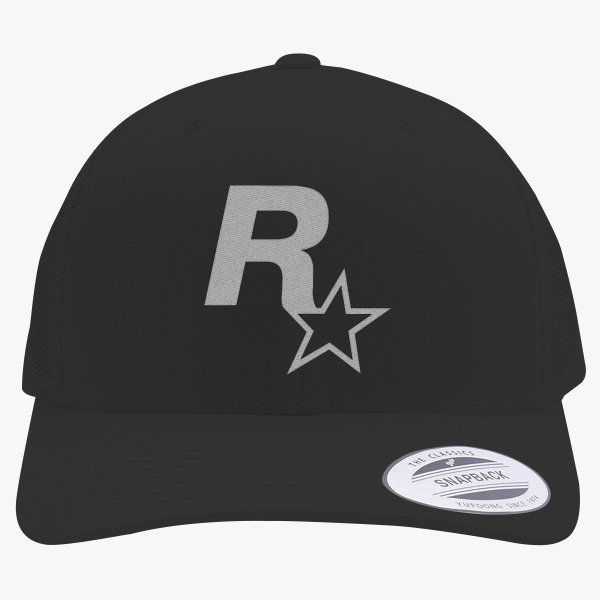 Rockstar Games Retro Trucker Hat Change style a44bc5ed086