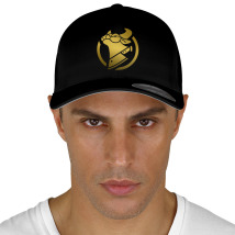 cow chop gold logo Baseball Cap cf134a3035e2