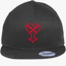 bec143a37b349 Heartless Logo (Red) - Kingdom Hearts New Era Snapback Cap ...