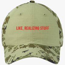 c4d8a65b9b539 Nah Rosa Parks Quote Colorblock Camouflage Cotton Twill Cap ...