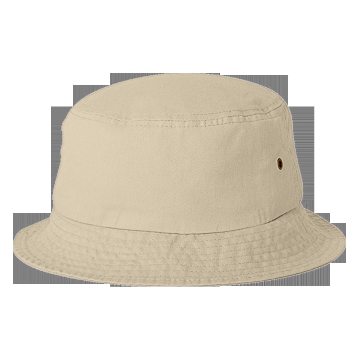 Design Your Custom Bucket Hats | Hatsline - Embroidery back