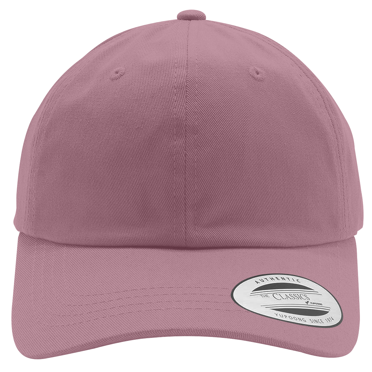Custom Cotton Twill Hats | Hatsline - Embroidery front